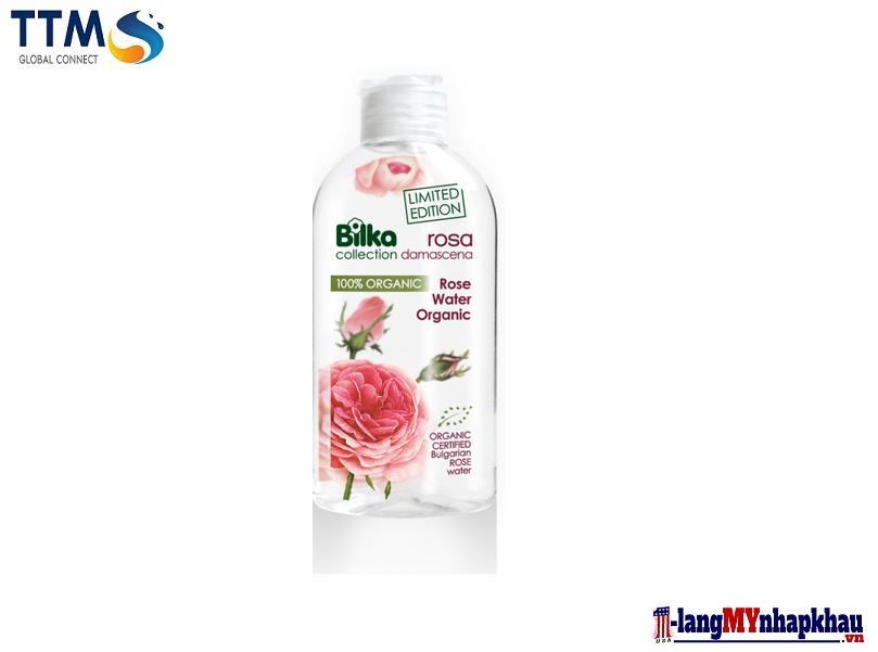 Nước hoa hồng Bilka Collection ROSA DAMASCENA ROSE WATER ORGANIC